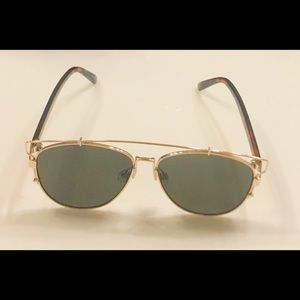 NERO OPACO FLAT TOP Shadow Shield oversize donna occhiali da sole da VIP